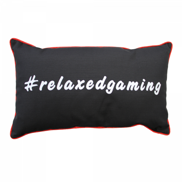 "Gaming Pillow ""RELAX CRIMSON"""