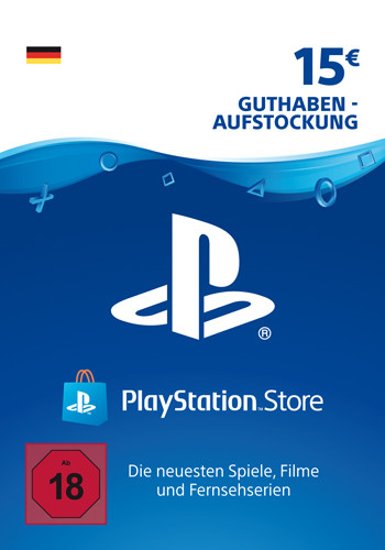 PlayStation Network Code 15 Euro