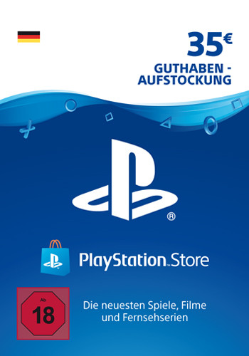 PlayStation Network Code 35 Euro