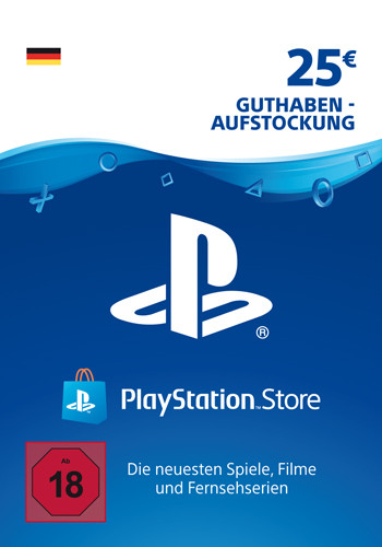 PlayStation Network Code 25 Euro